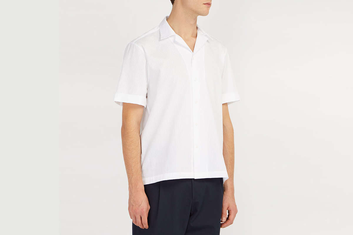 Cuban-Collar Shirt