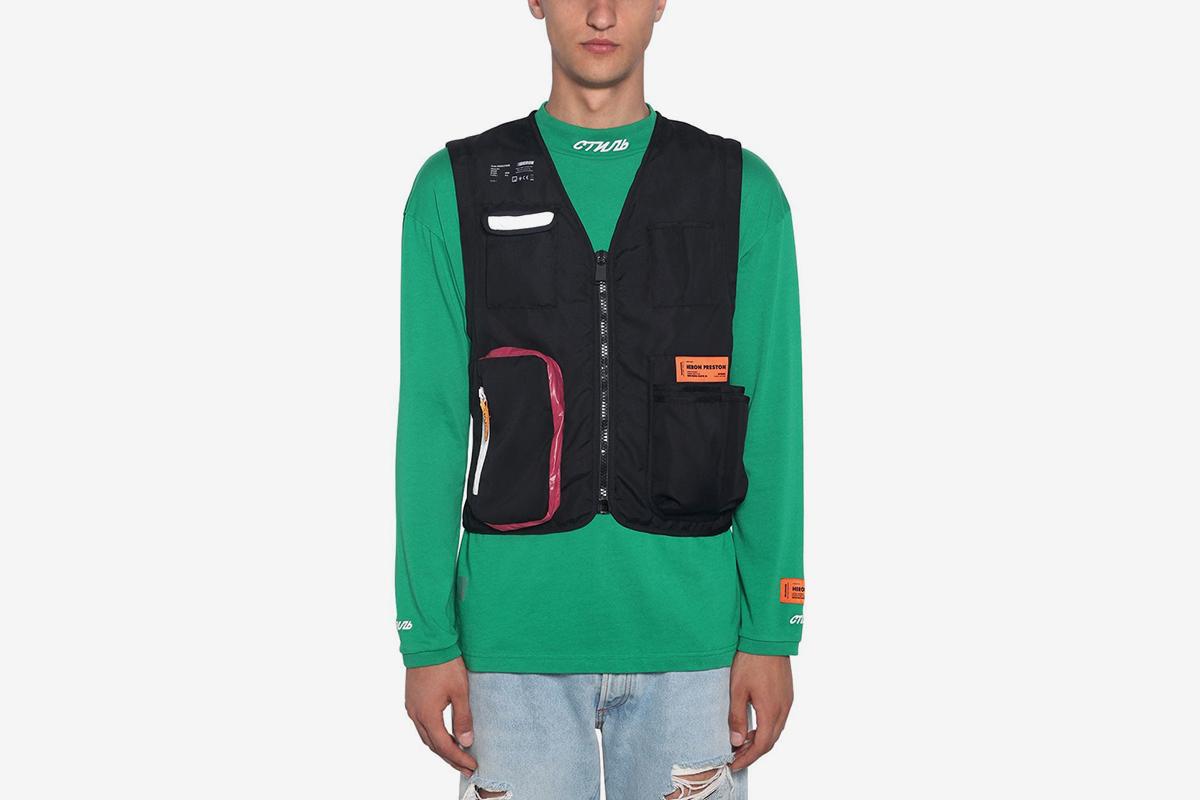 Zip-Up Nylon Tool Vest