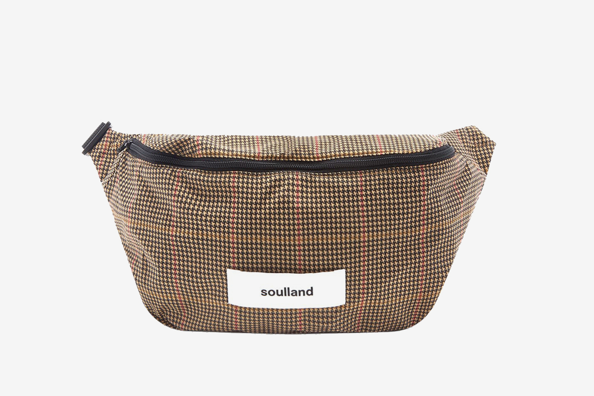 Houndstooth Waist Bag