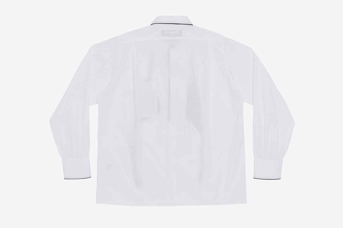 Knitted Bra Pyjama Shirt