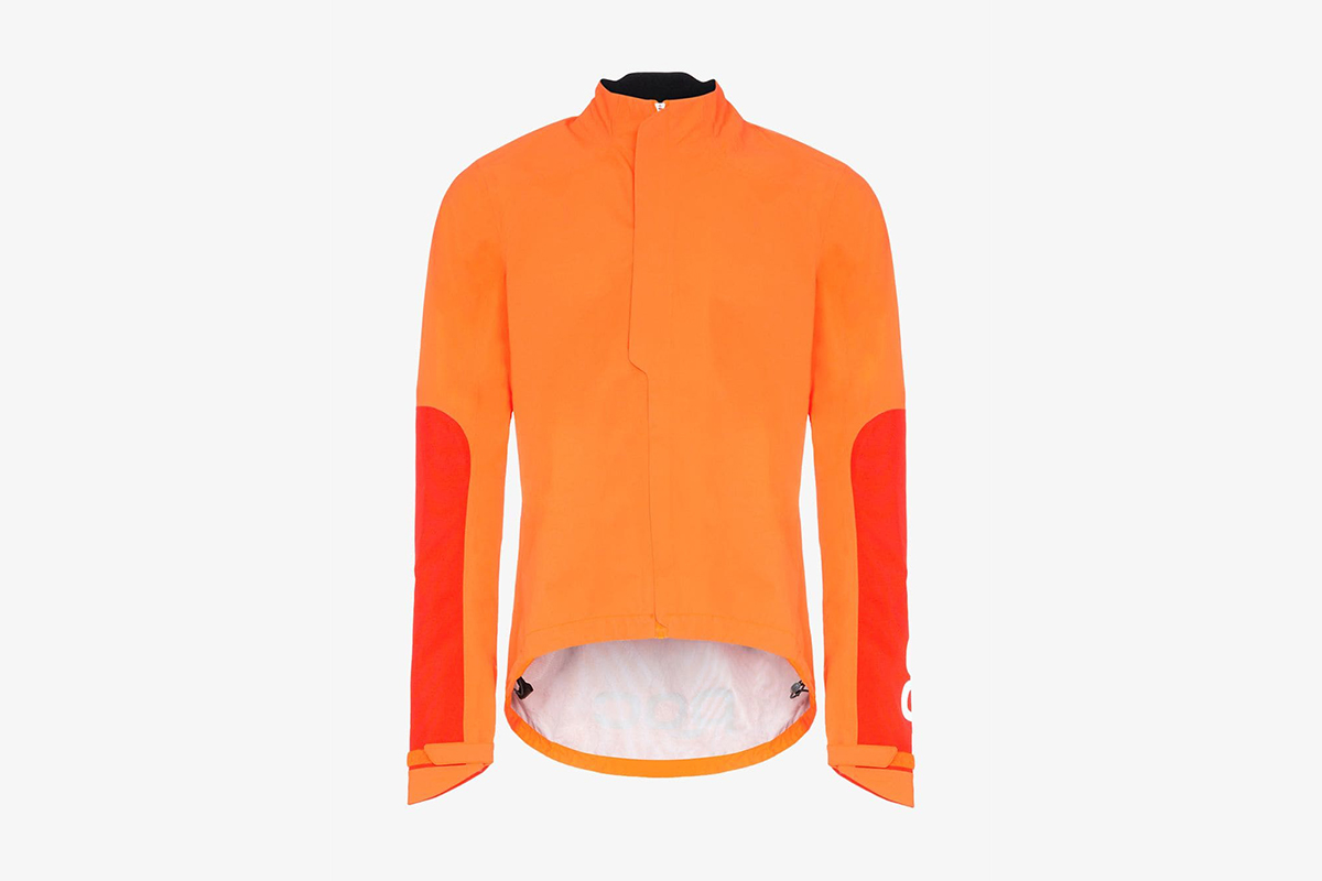 High-Neck Cycling Windbreaker Jacket