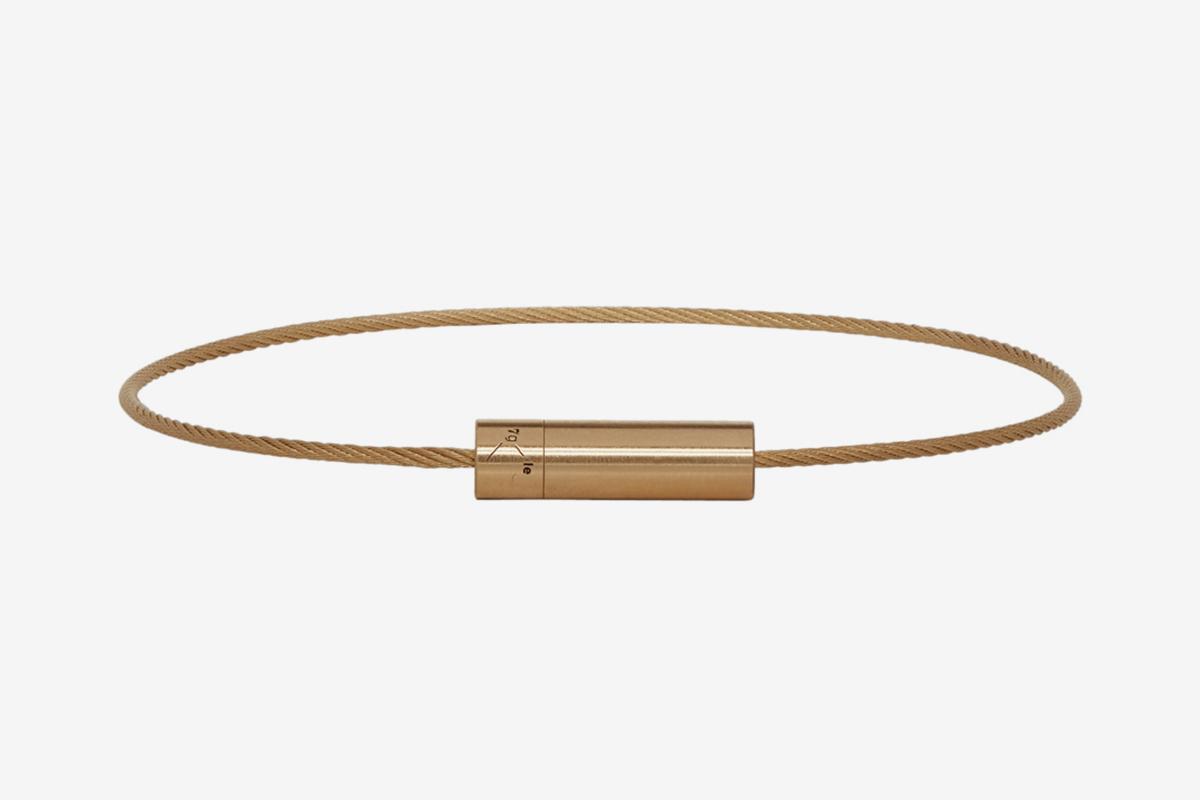 Brushed 'Le 7 Grammes' Bracelet