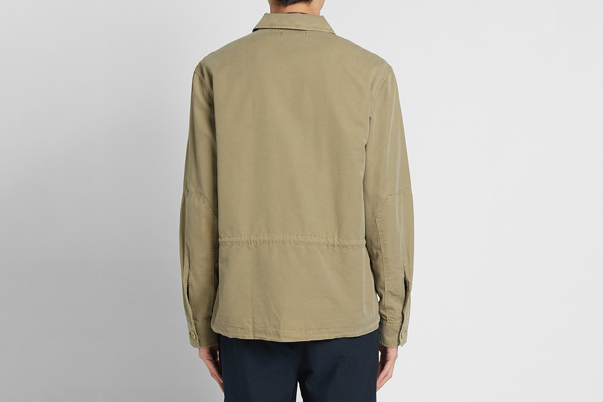 Puff Pocket Shirt Jacket