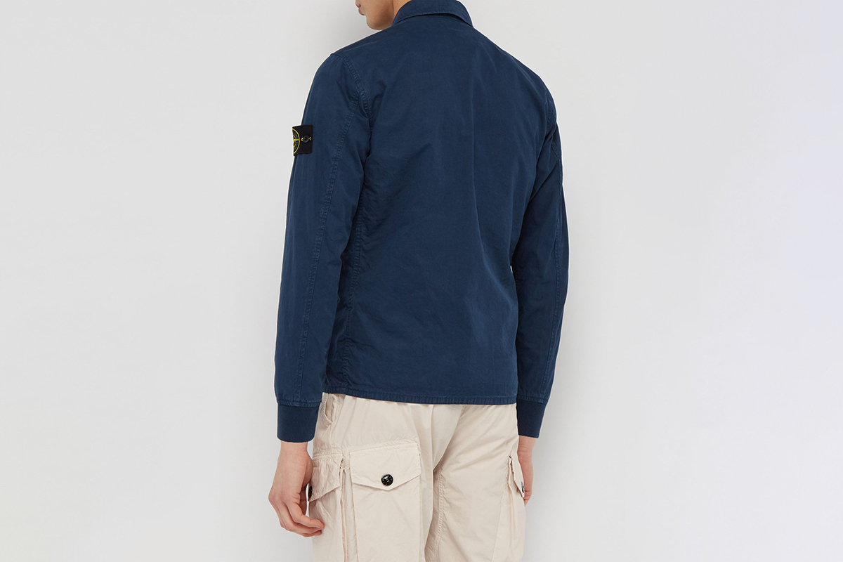 Technical Garment Dyed Overshirt