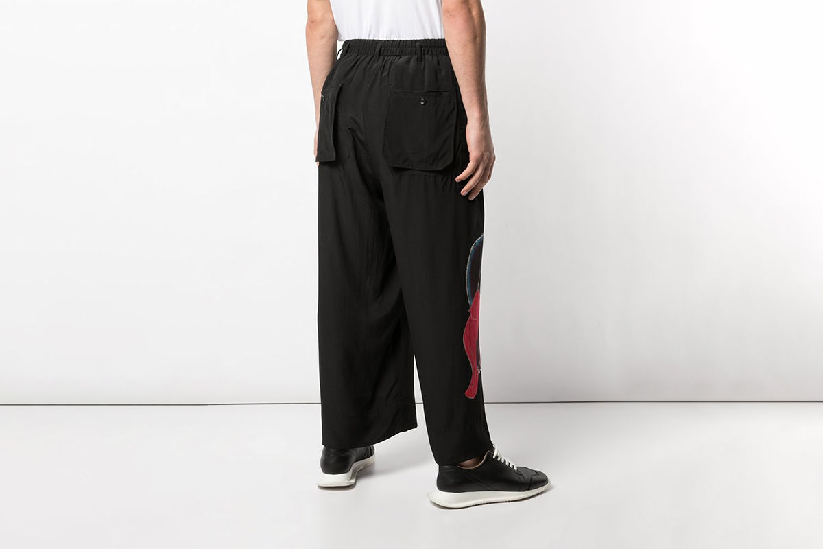 Asakura Wide Leg Trousers