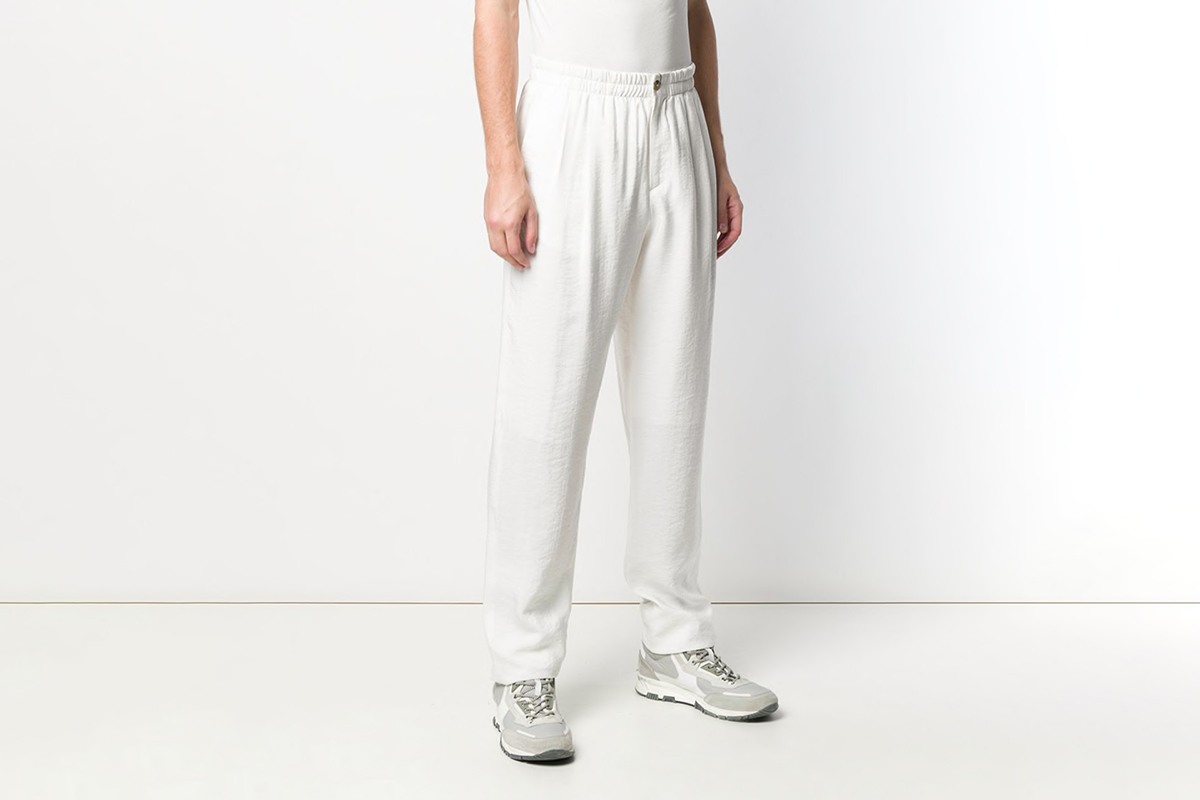 Loose Fit Track Trousers