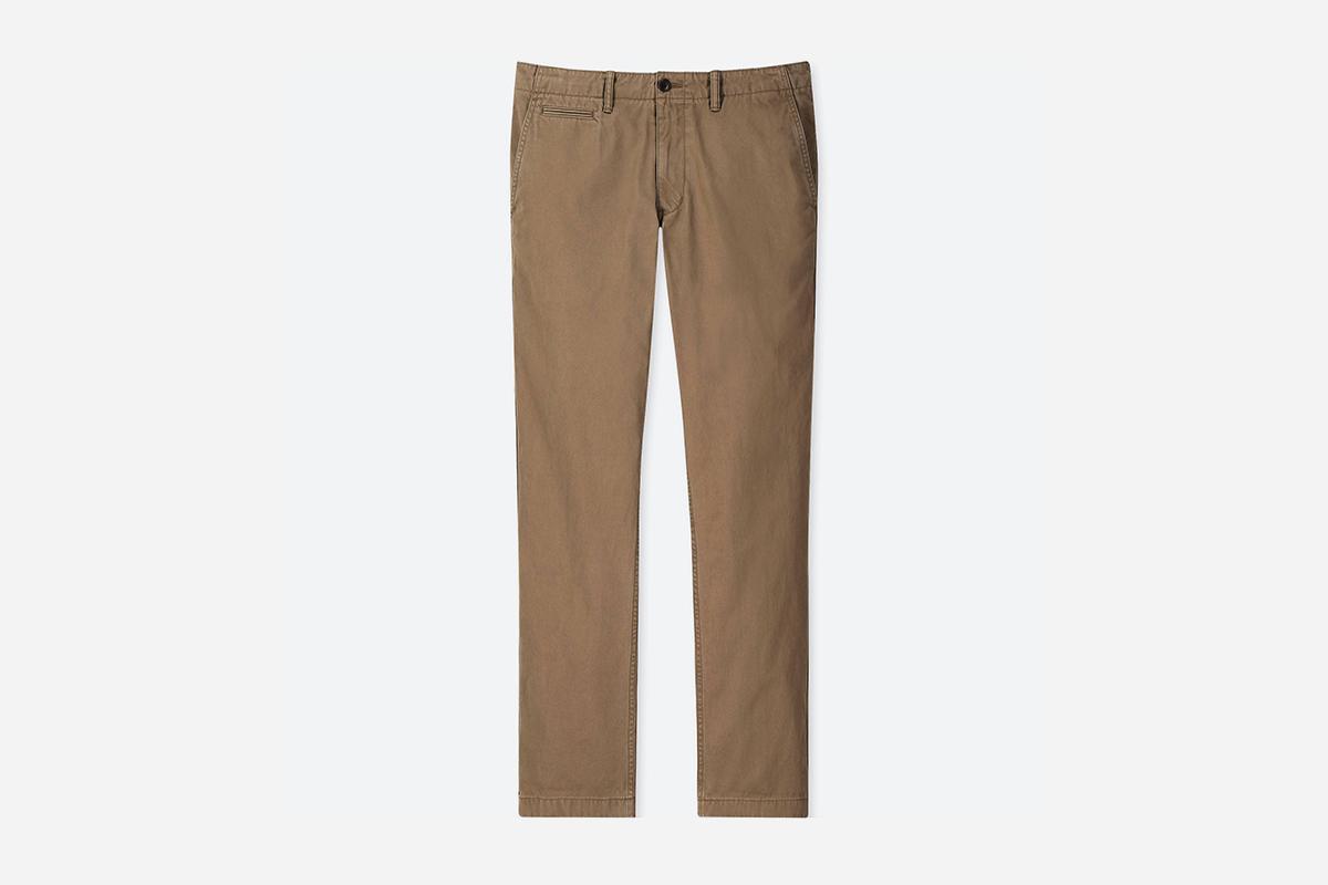 Vintage Regular-Fit-Chino Pants