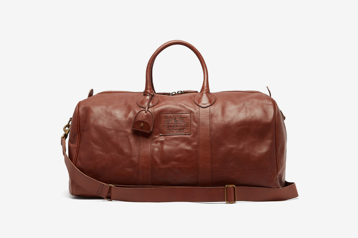 Heritage Leather Weekend Bag