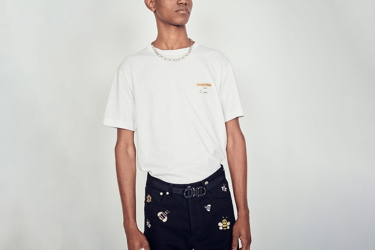 "Cotton T-Shirt ""Visitor Patch"""