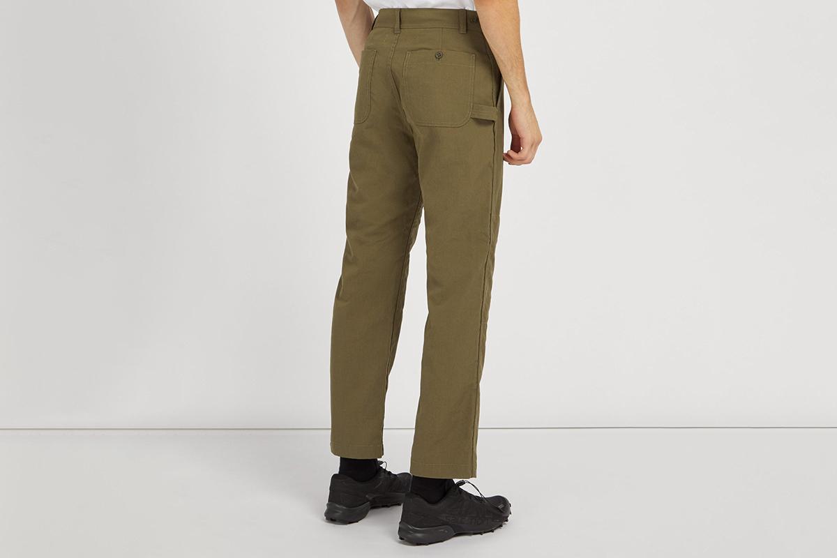 Takibi Cotton Blend Ripstop Trousers
