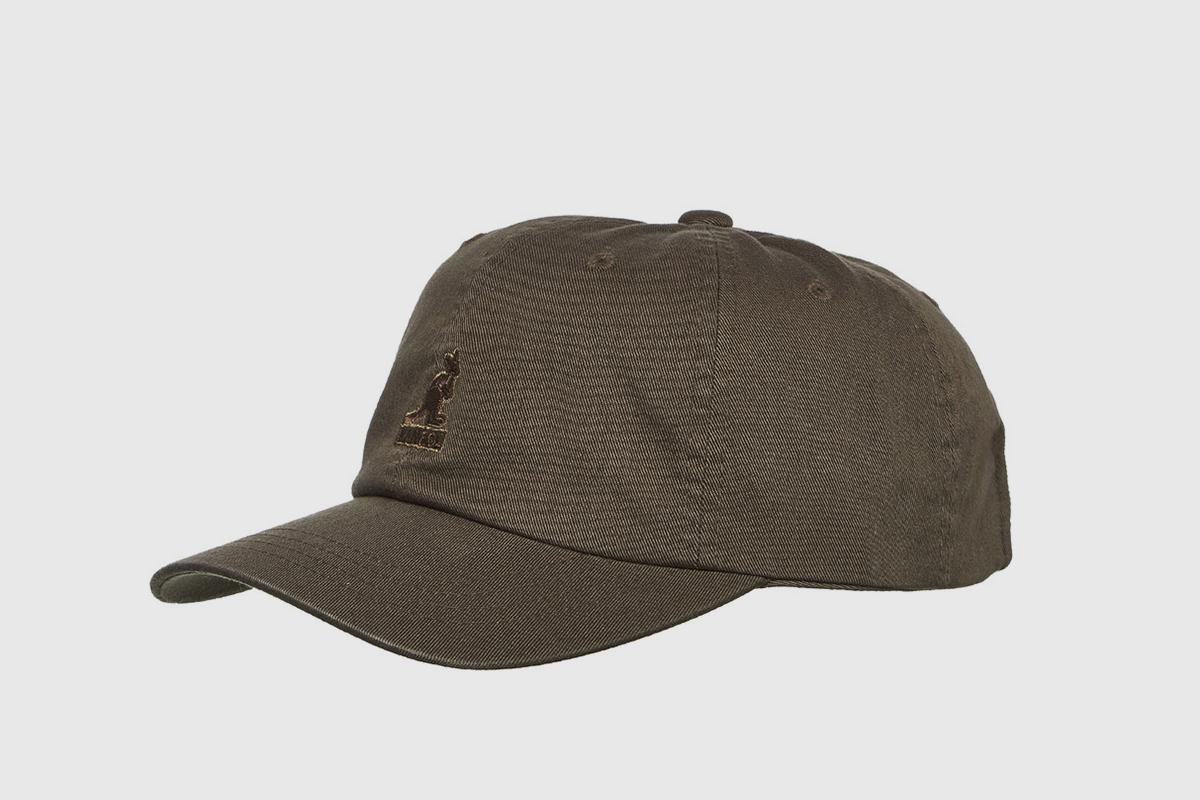 Washed Baseball Strapback Cap
