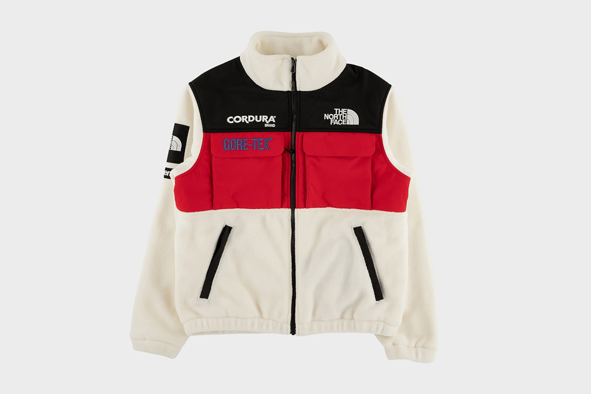 Fleece Logo Embroidered Jacket