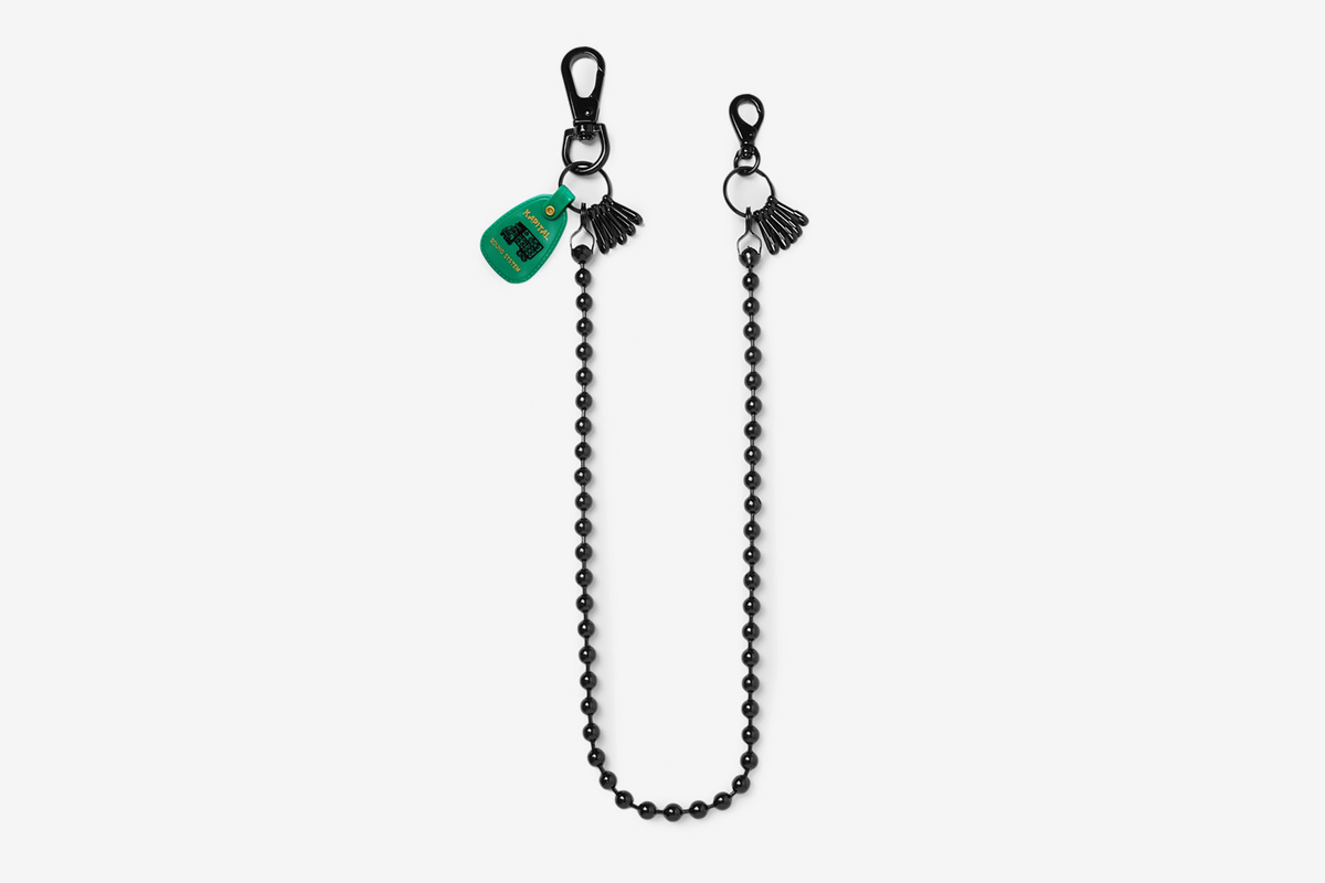 Embellished Metal Safety Chain
