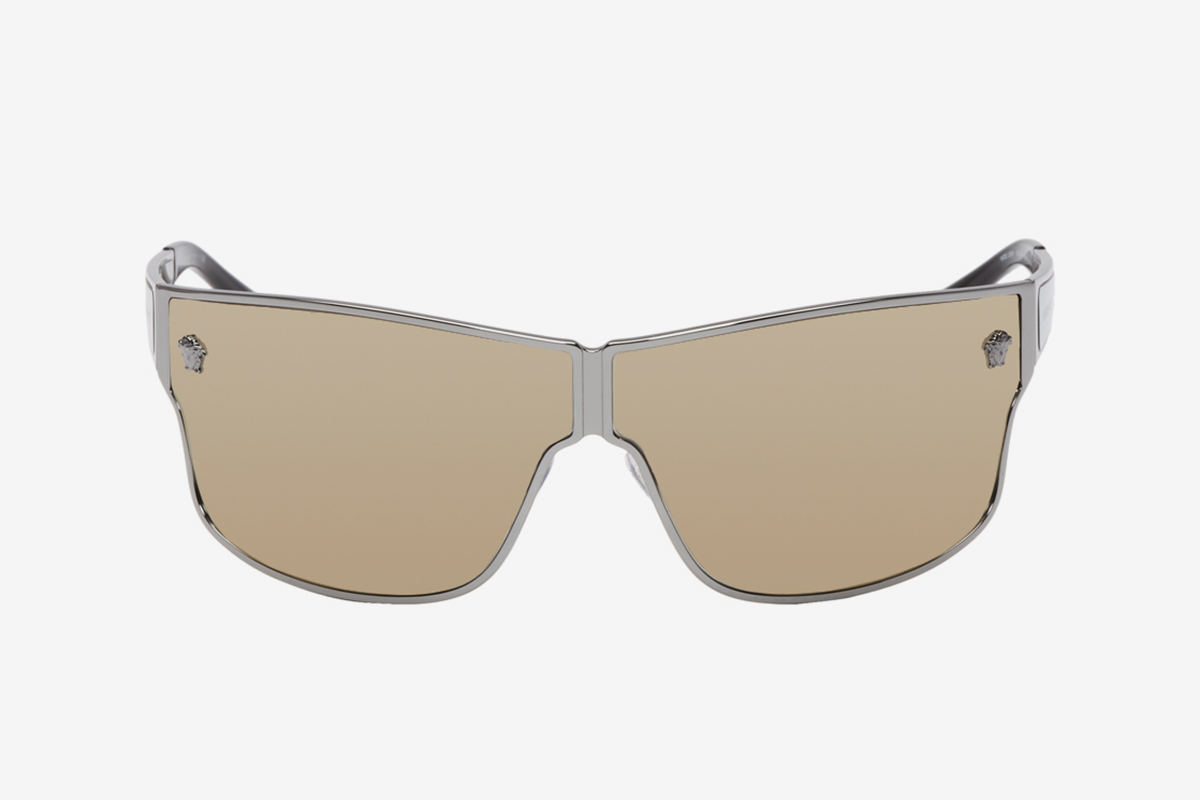 Gunmetal Medusa Aspis Sunglasses