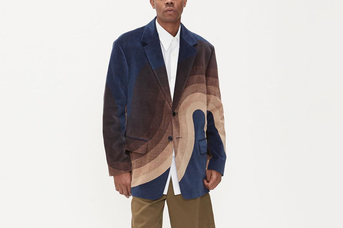 Berkley Velvet 2-Button Jacket