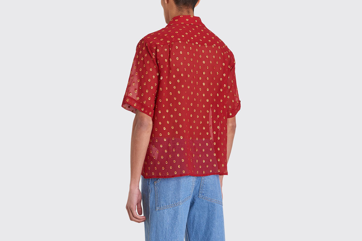 Luka Bowling Shirt With Embroidery