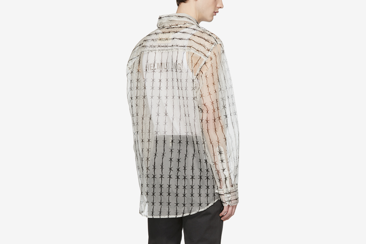 Barbed-Wire Shirt