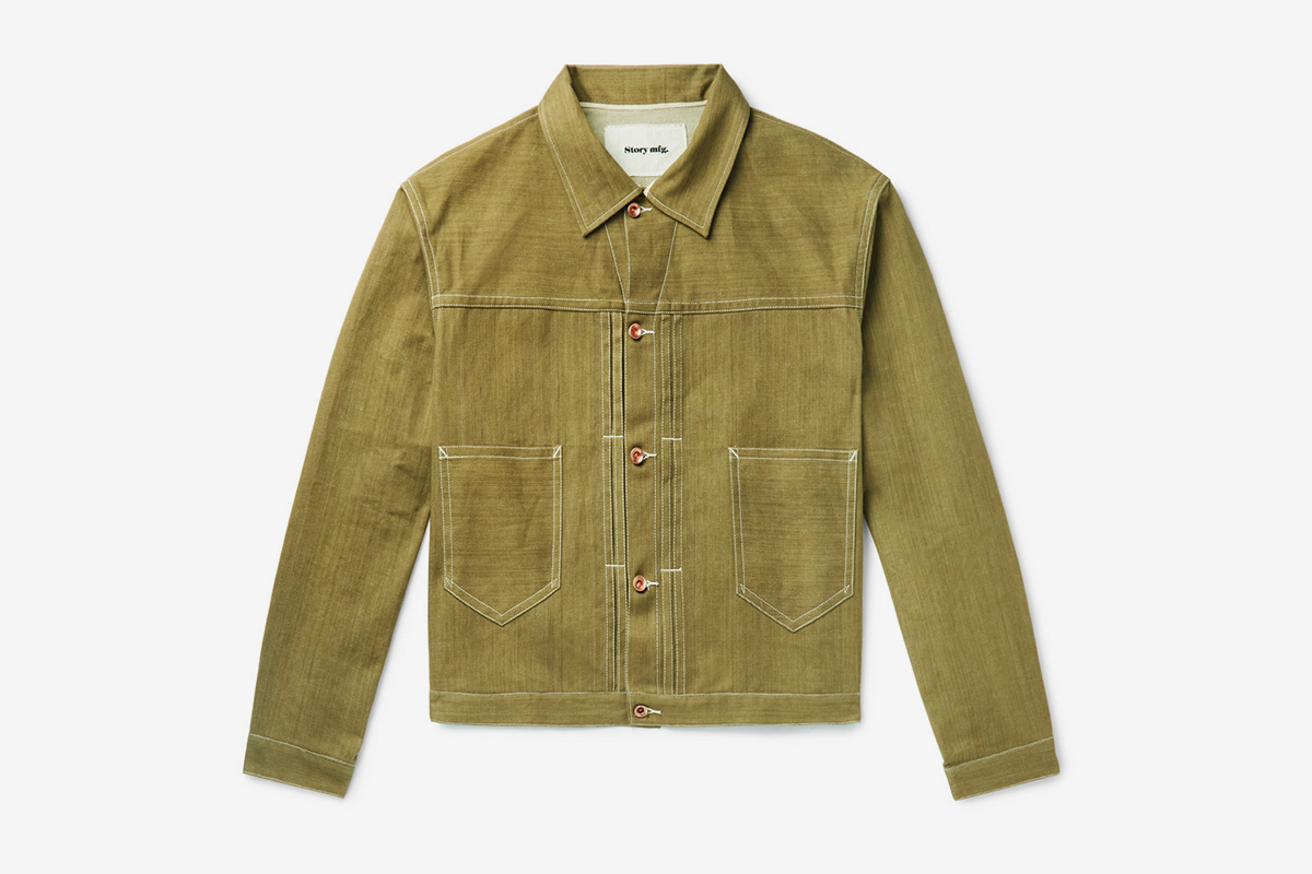 Sundae Organic Selvedge Denim Jacket