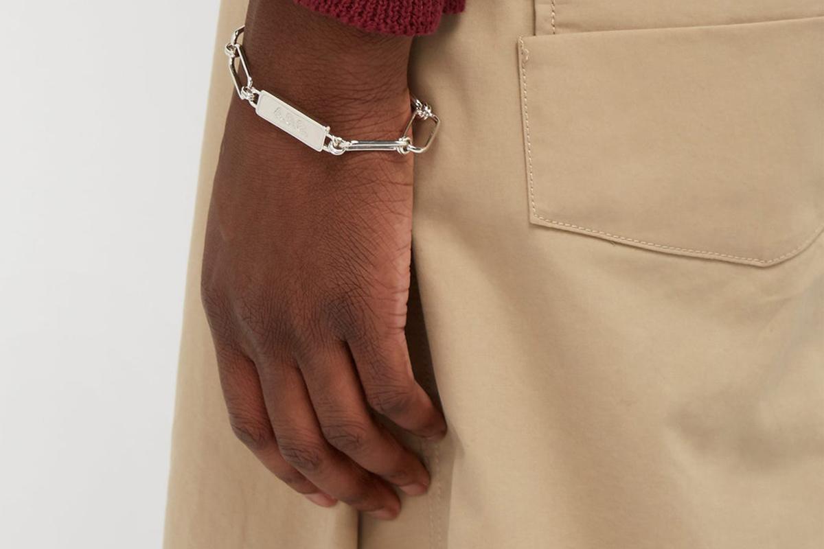 Bassim Shain-Link Bracelet