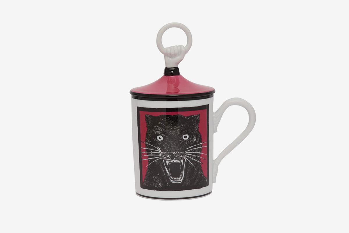 Panther Porcelain Mug