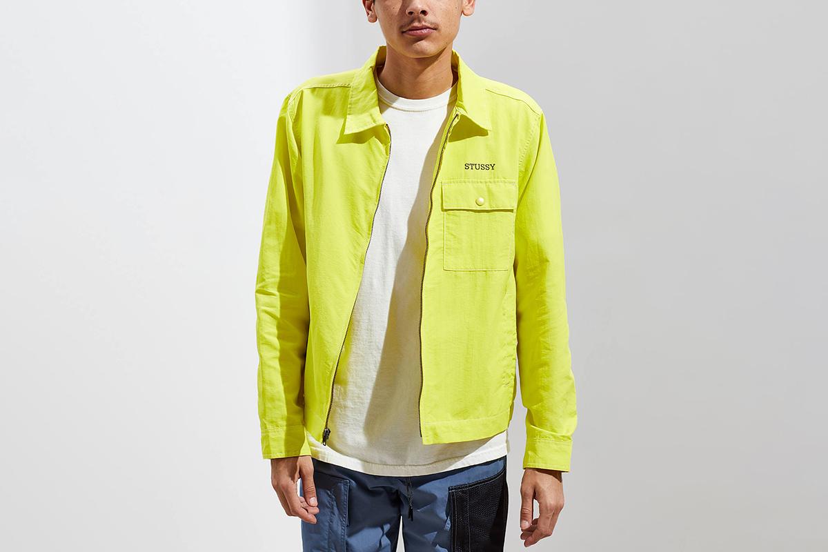 Nylon Zip Jacket
