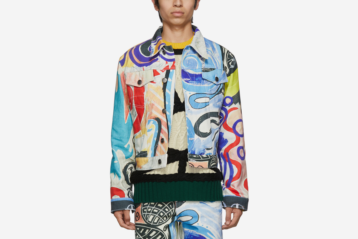 Denim Art Jacket