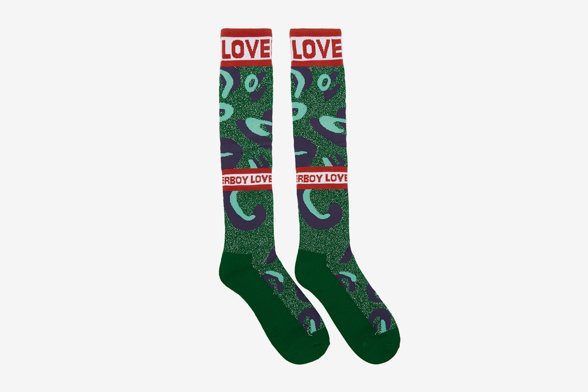 Loverboy Monster Socks