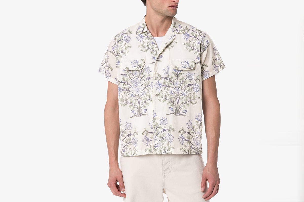 Indo Floral Print Shirt