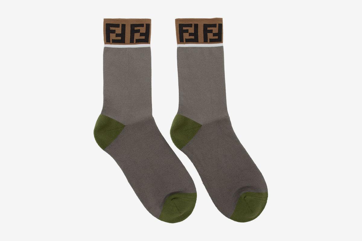 'Forever Fendi' Socks