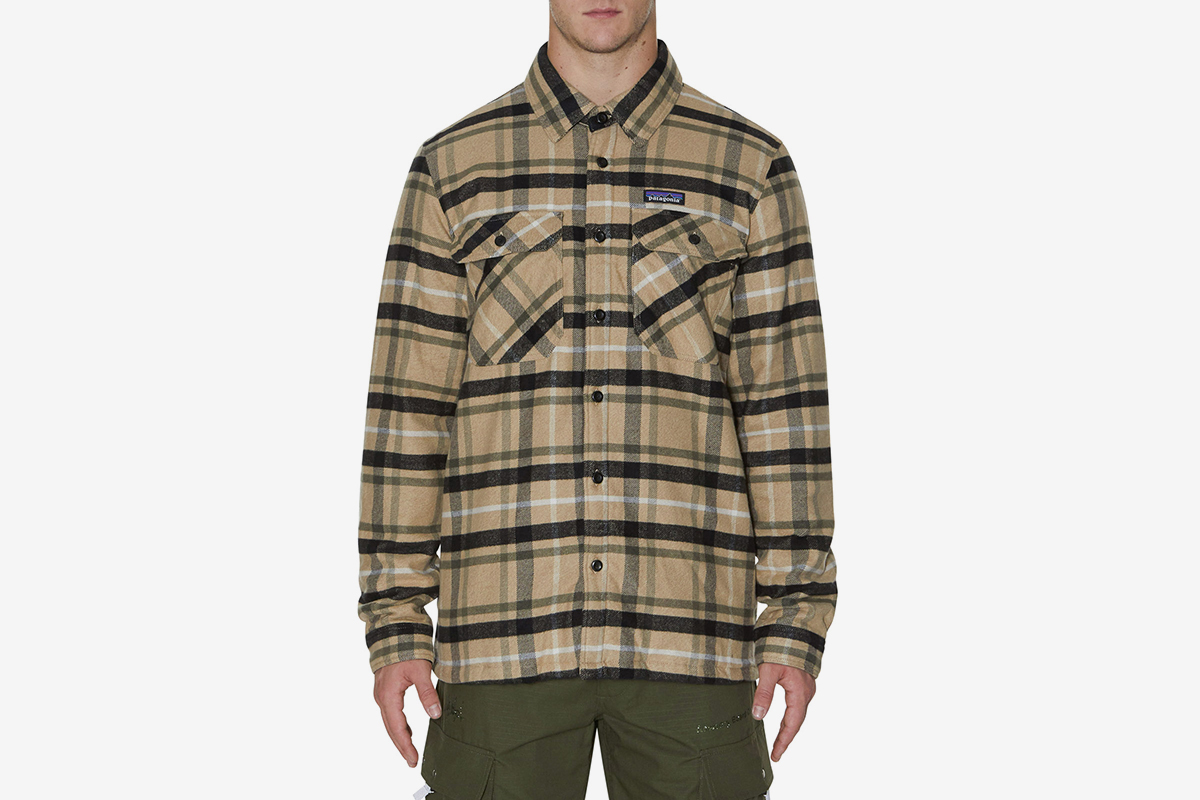 Insulated Fjord Flannel Jacket Mohave