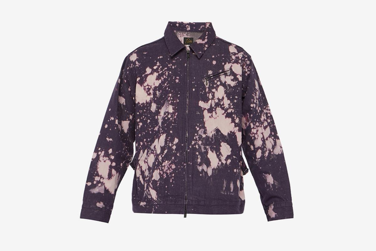 Acid-Washed Denim Jacket