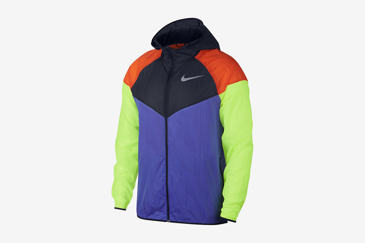 Colorblocked Water-Repellent Windrunner Jacket