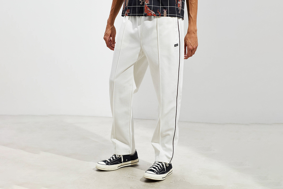 Poly Pique Track Pant