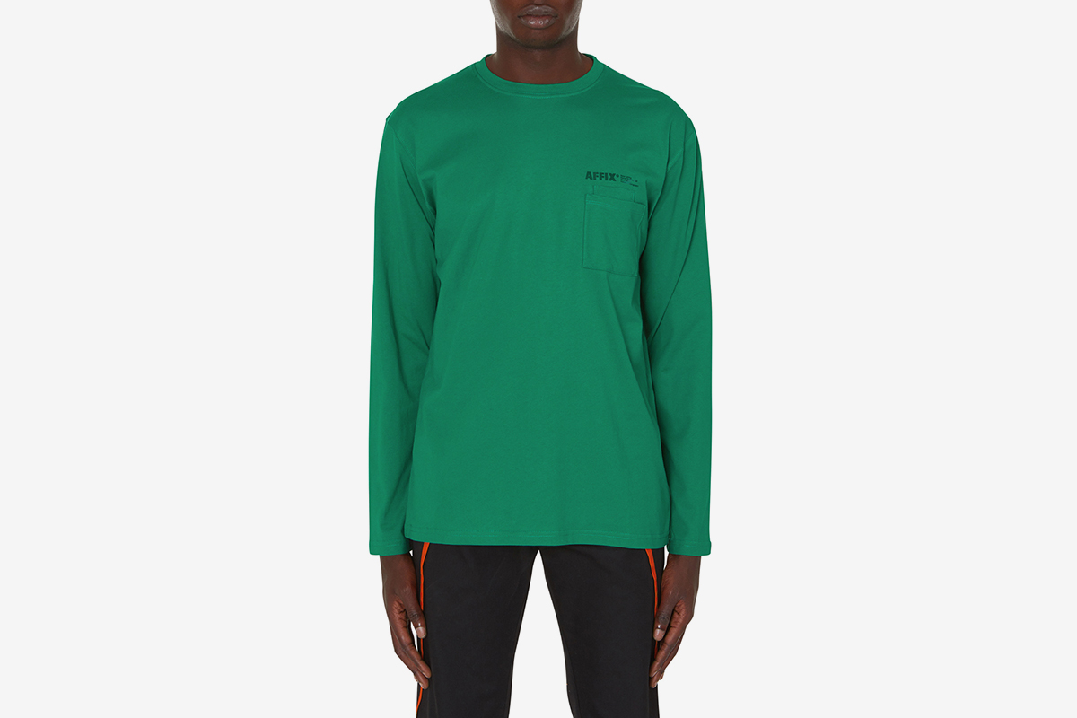 Double Chest Pocket Longsleeve T-Shirt