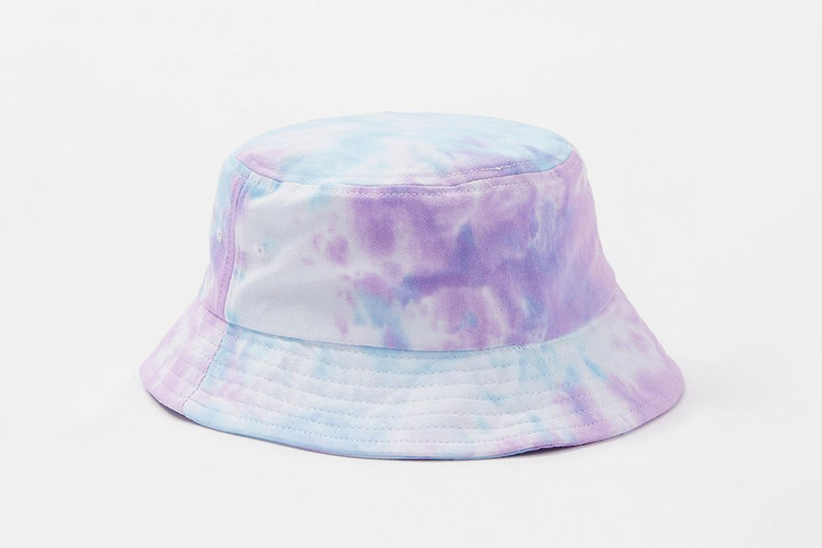 Tie-Dye Washed Bucket Hat