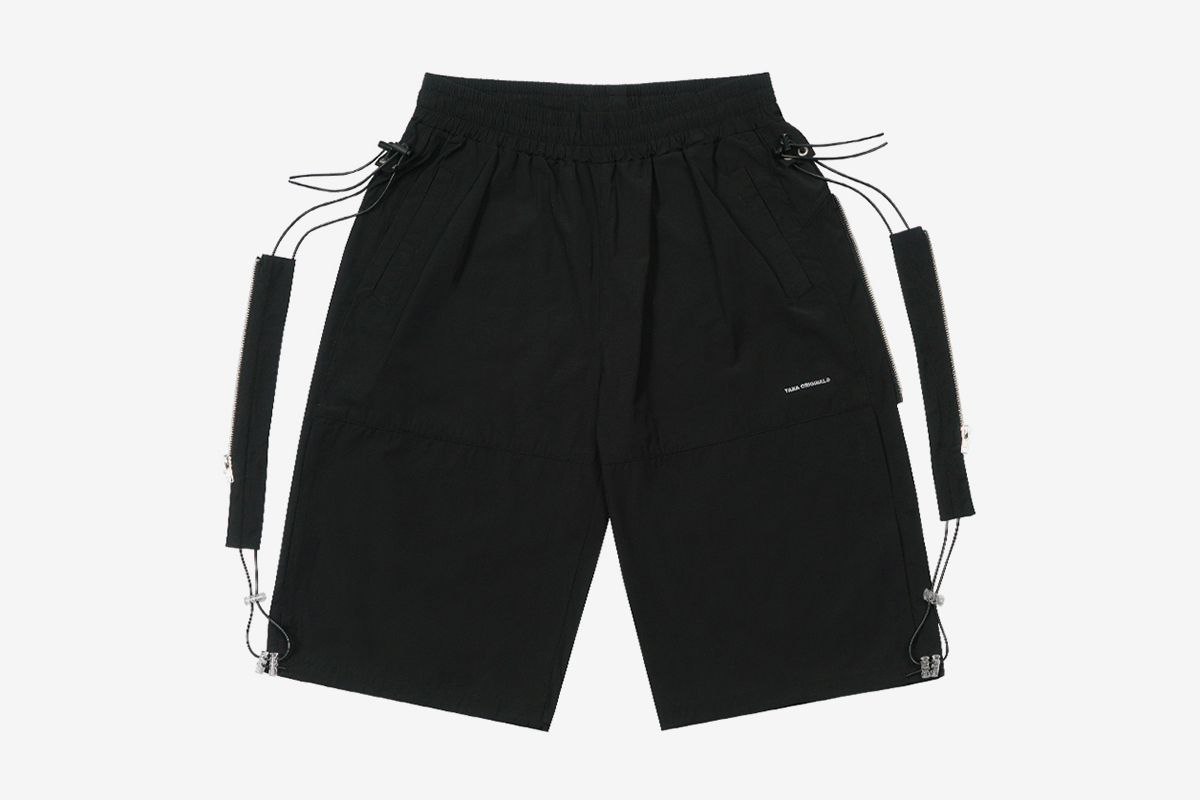 19SS Side Zip Track Shorts