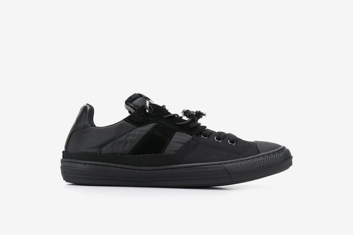 Spliced Low Top Sneakers