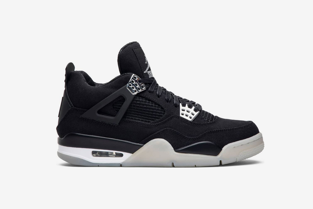 Air Jordan 4 'Black Chrome'