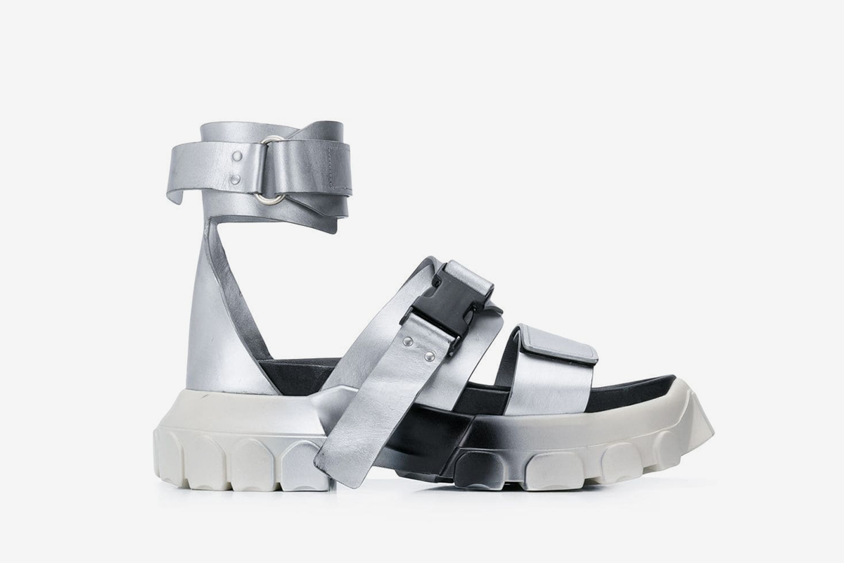 Tractor Ankle Strap Sandals