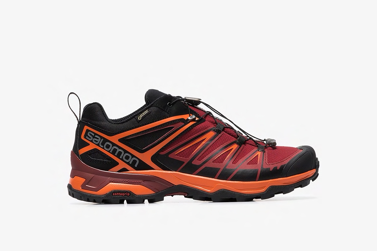 X Ultra Red And Orange 3 GTX Sneakers