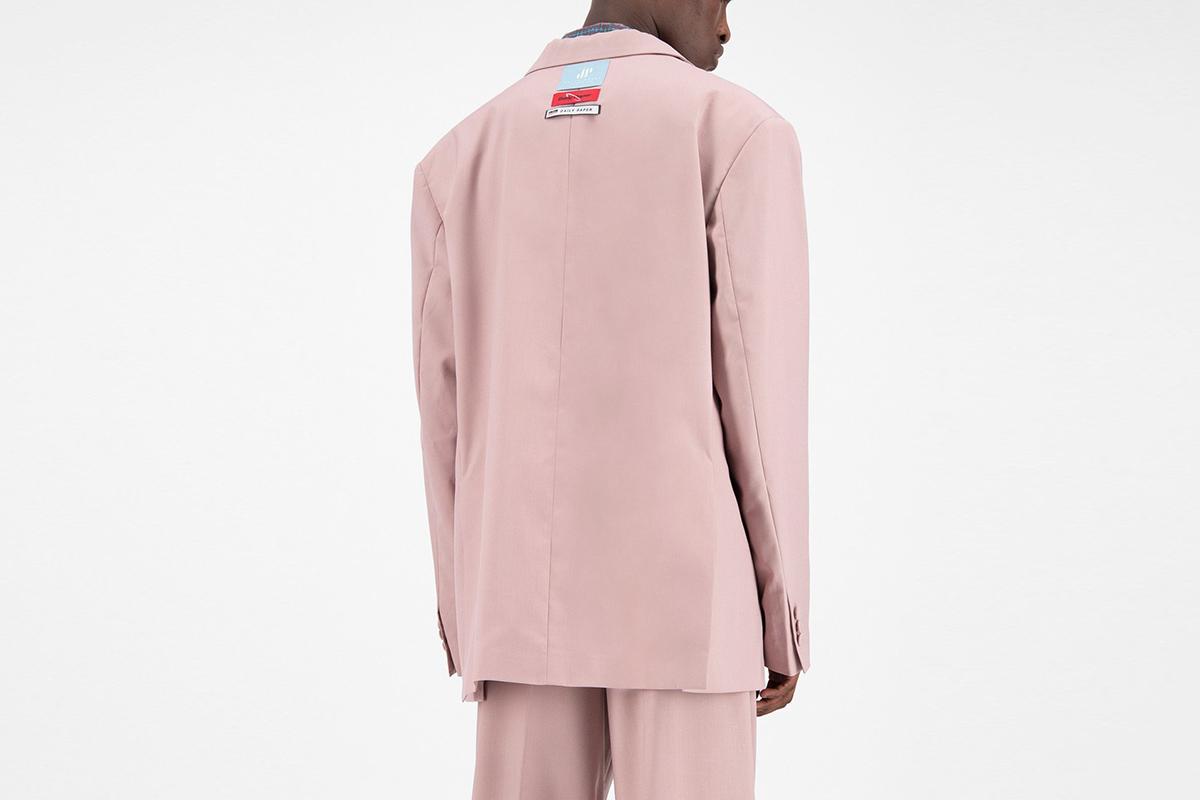 Old Pink Oversized Fecker Blazer