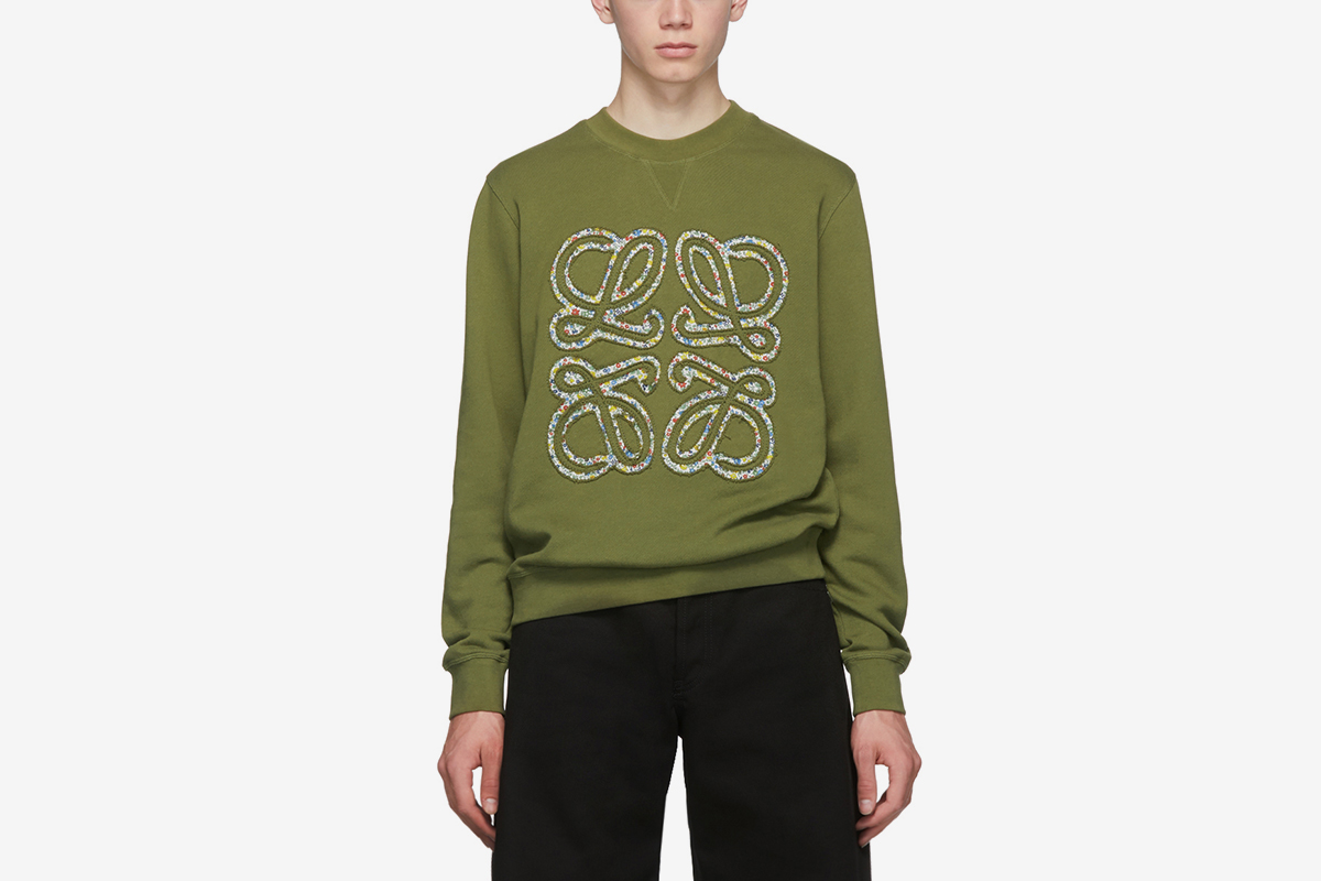 Anagram Flowers Sweatshirt