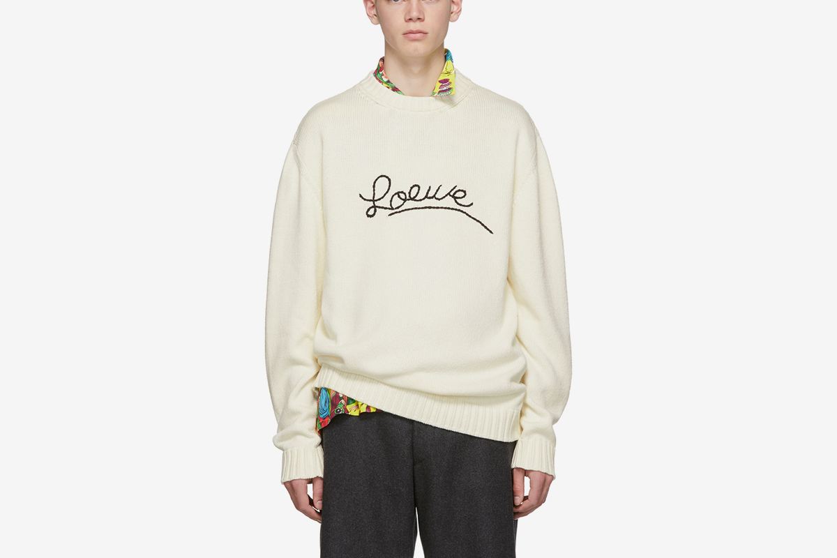 Logo Stitch Sweater