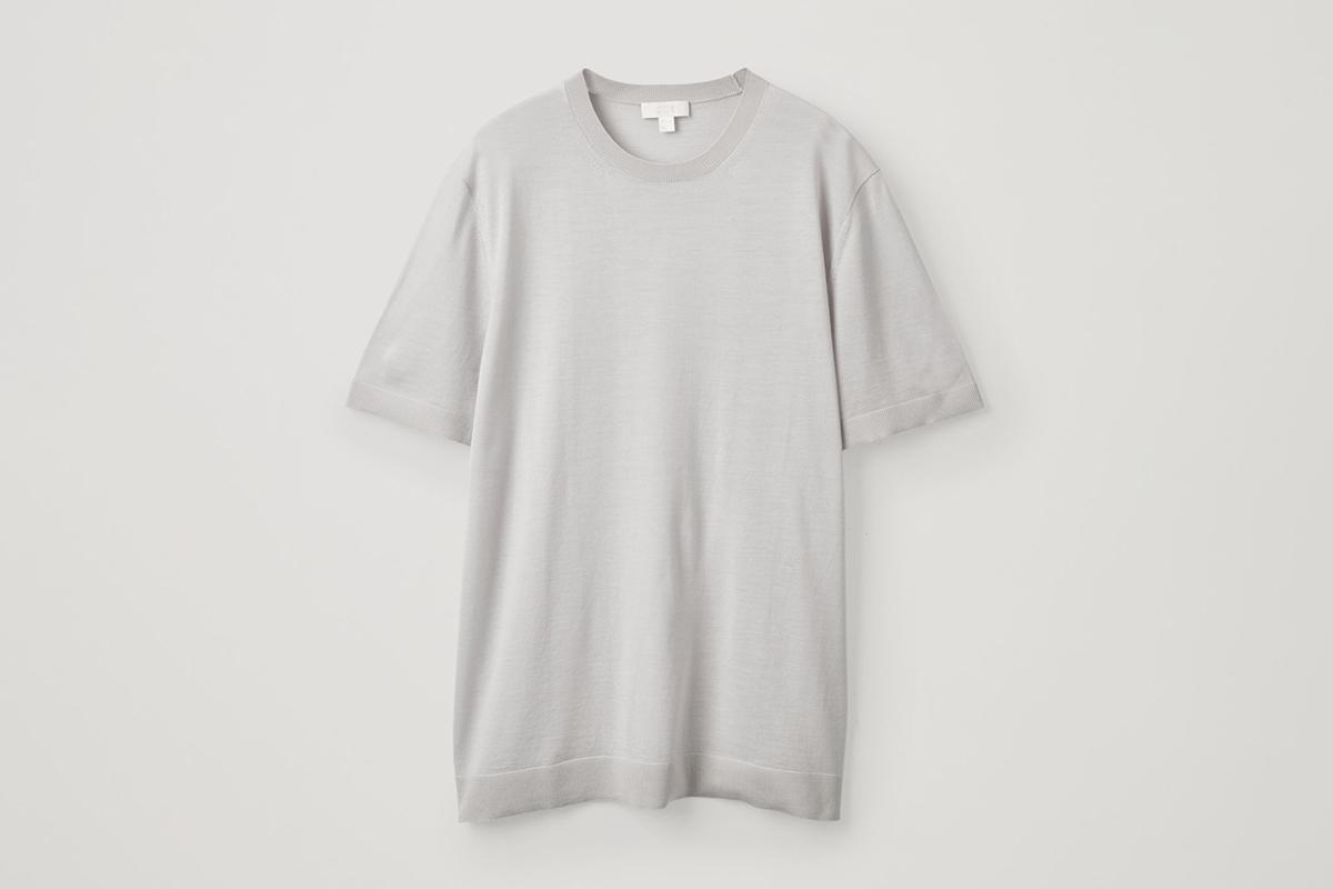 Merino Knitted T-Shirt