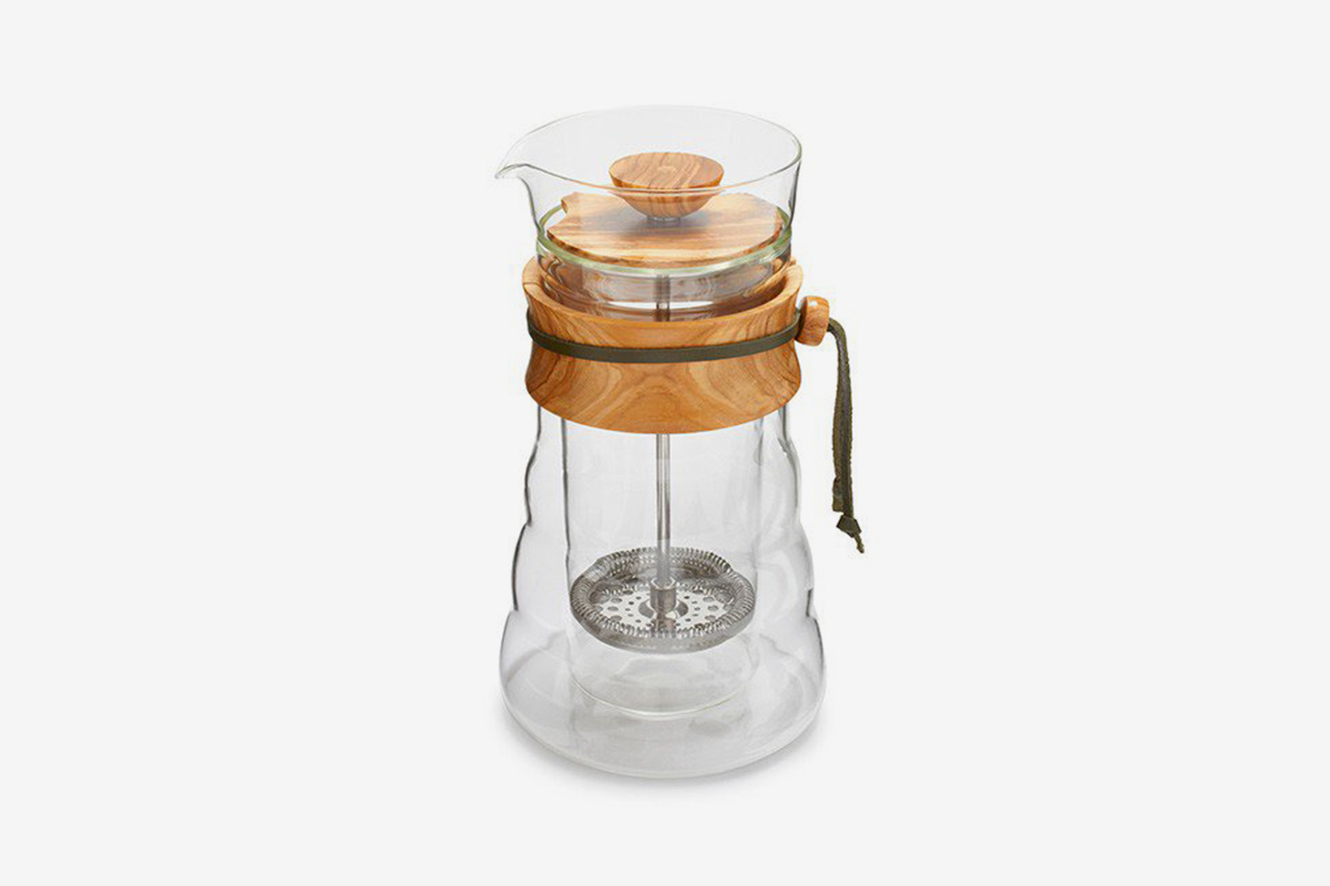 Double Wall Glass Coffee Press