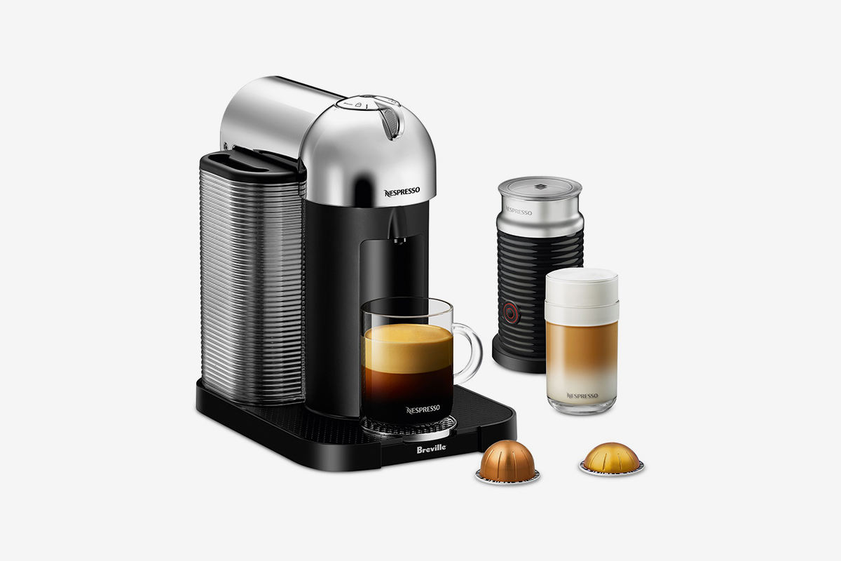 Coffee & Espresso Machine with Aeroccino