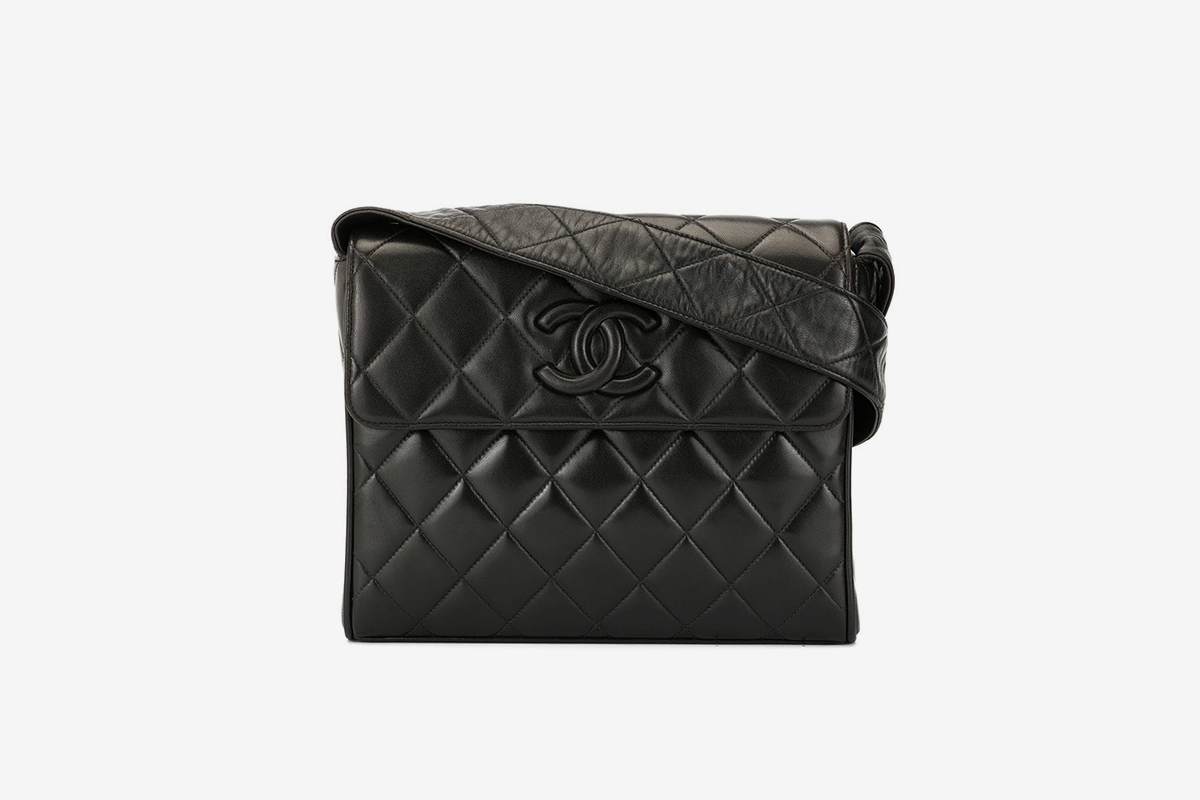 Quilted CC Cross-Body Bag