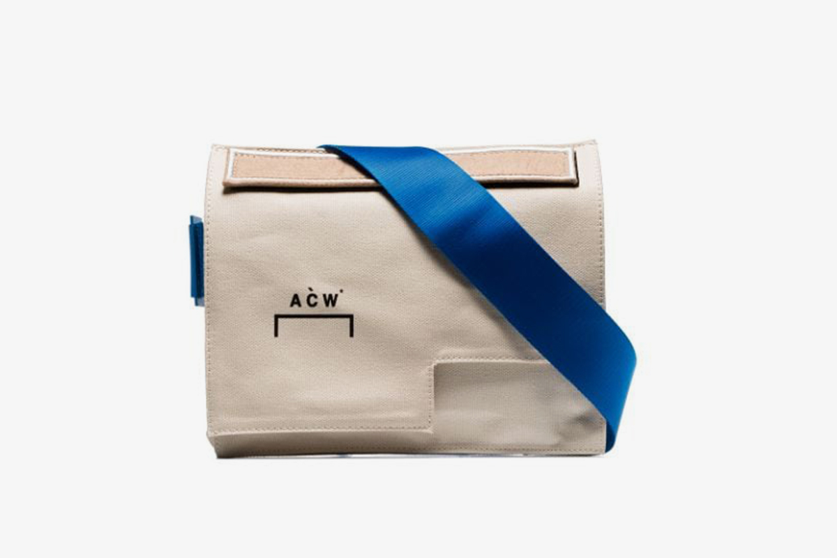 Asymmetric Messenger Bag
