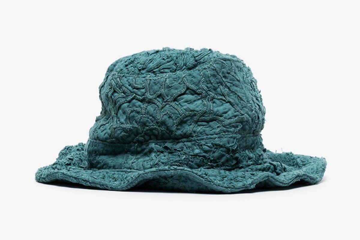 Firas Embroidered Cotton Bucket Hat