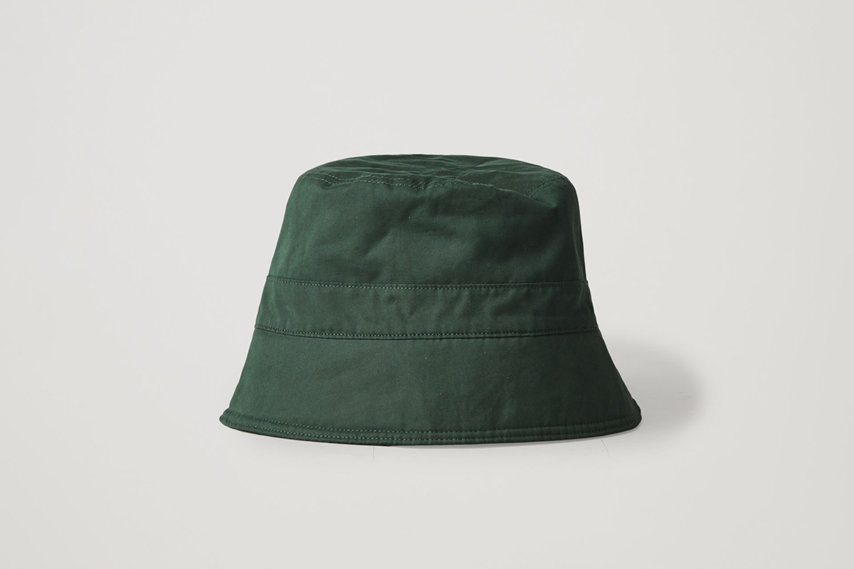 Topstitched Bucket Hat